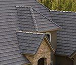 gray concrete tile roof